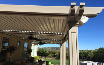 Roll X ® Louvered Patio Covers.