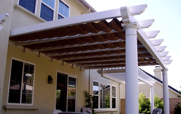 Slide on Wire Retractable Awning