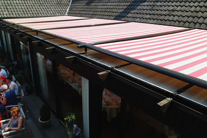 Stobag Airomatic Retractable Awnings